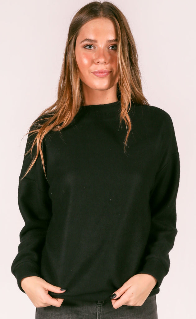 afternoon nap oversized pullover