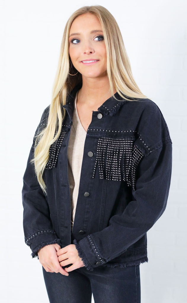 alex fringe jacket