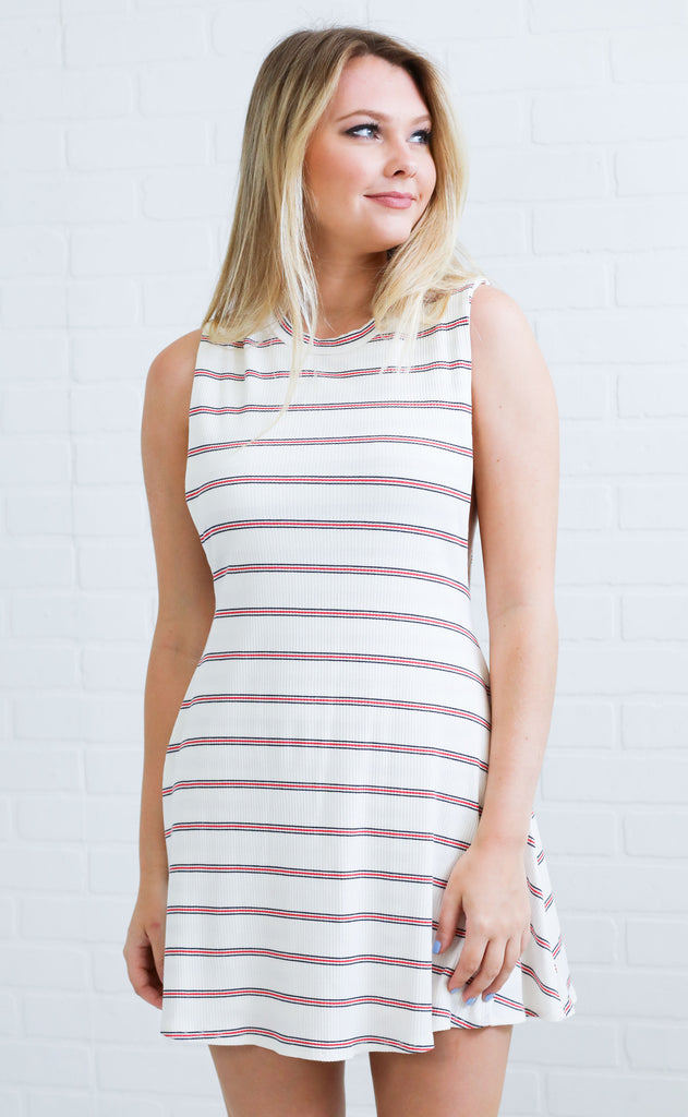all american striped dress