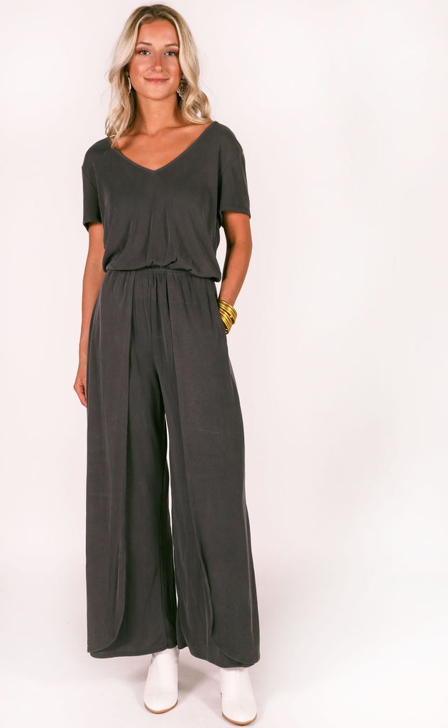 all or nothing ribbed jumpsuit
