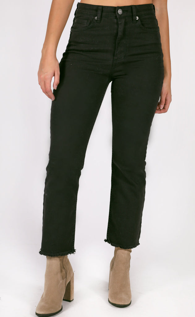 amuse society: la vida denim pant - black