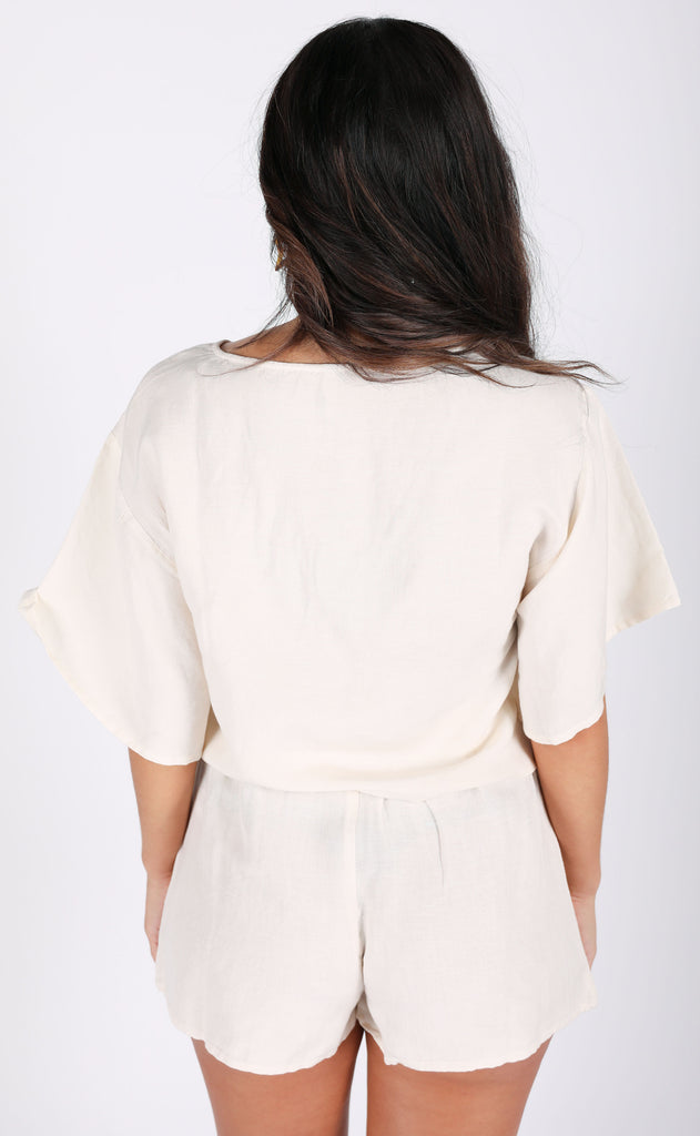 amuse society: bungalow woven top