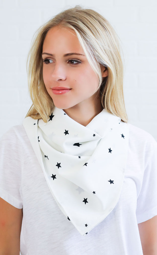 amuse society: don't be square scarf