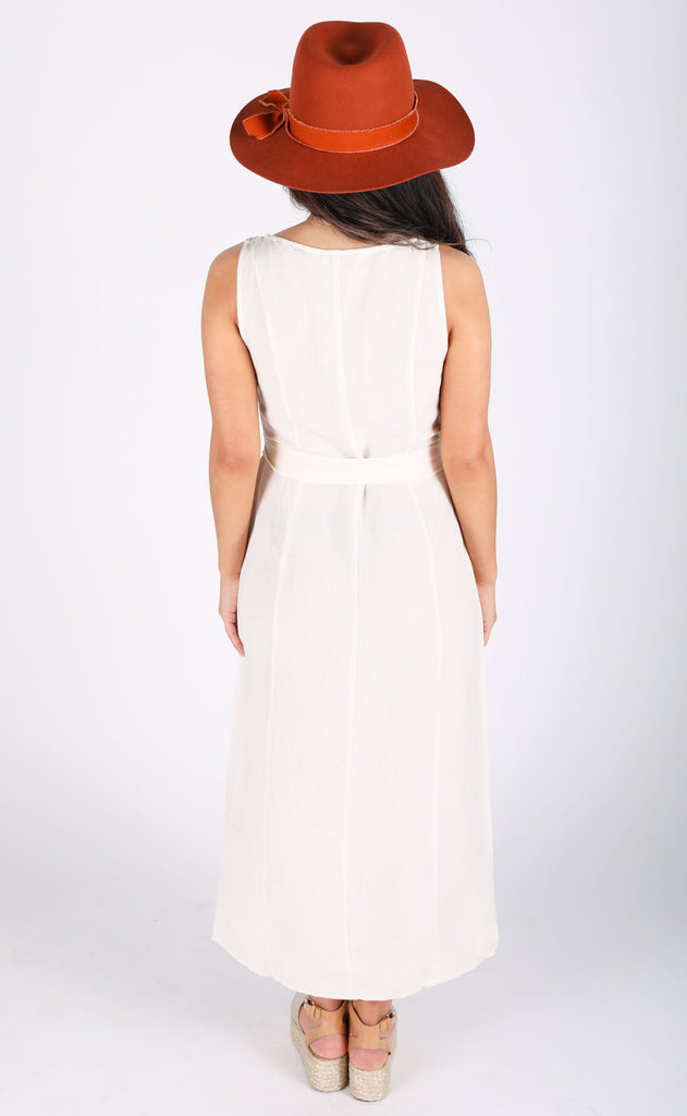amuse society: driftwood sleeveless woven dress