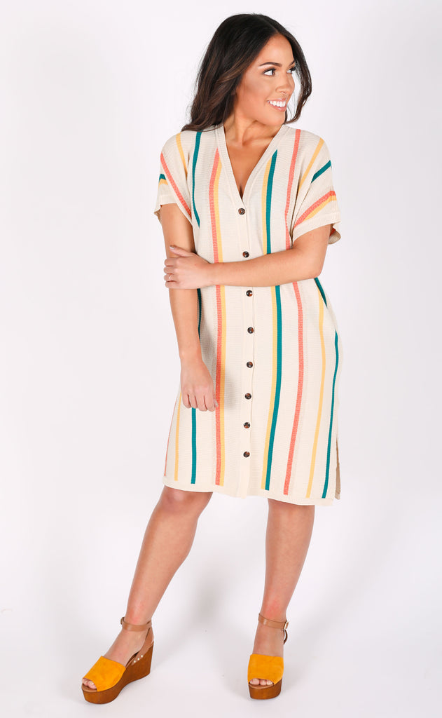 amuse society: glow getter tunic dress
