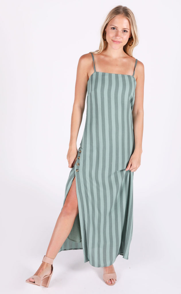 amuse society: hidden cove woven maxi dress