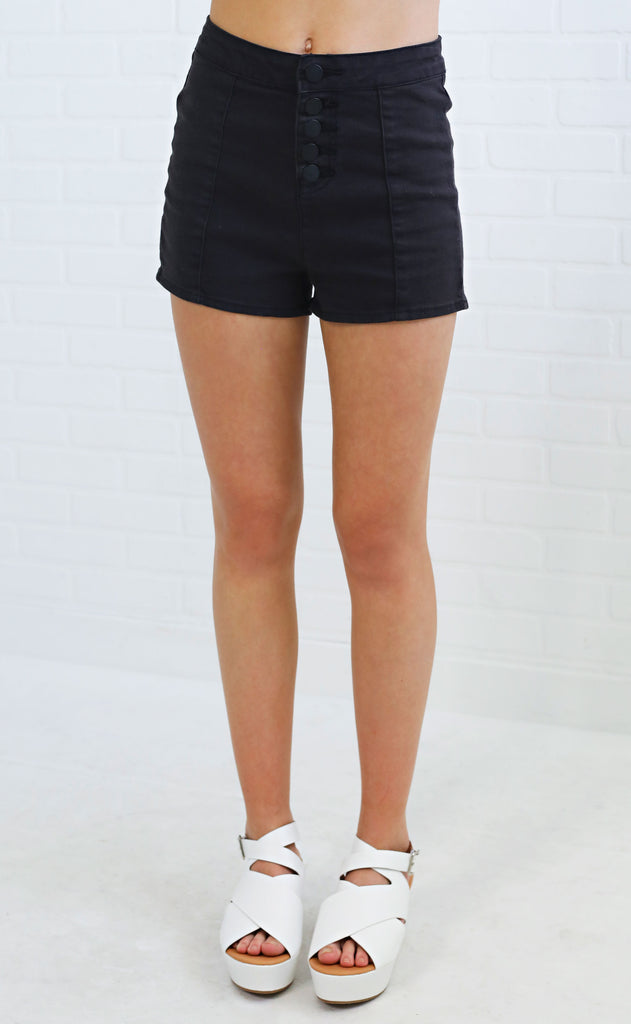 amuse society: midnight moon short - black