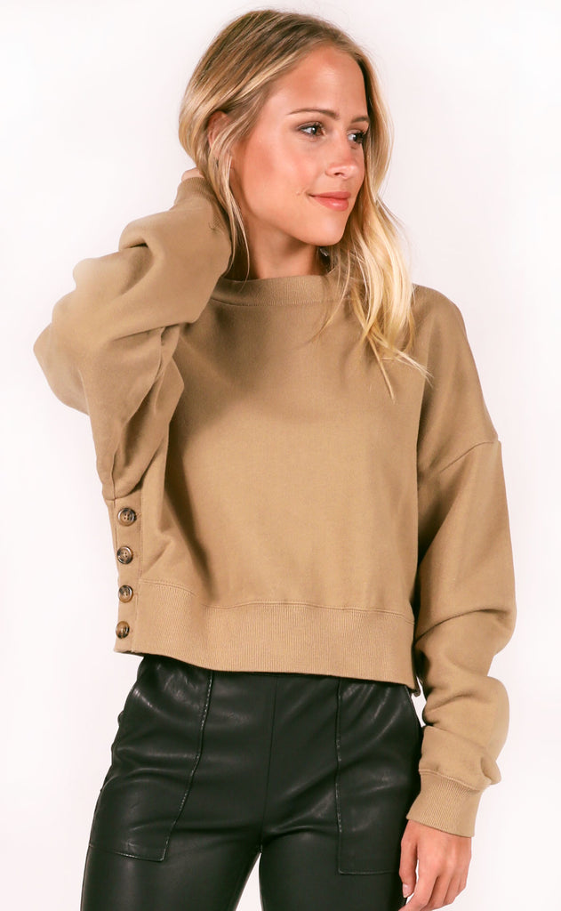 amuse society: portofino fleece top