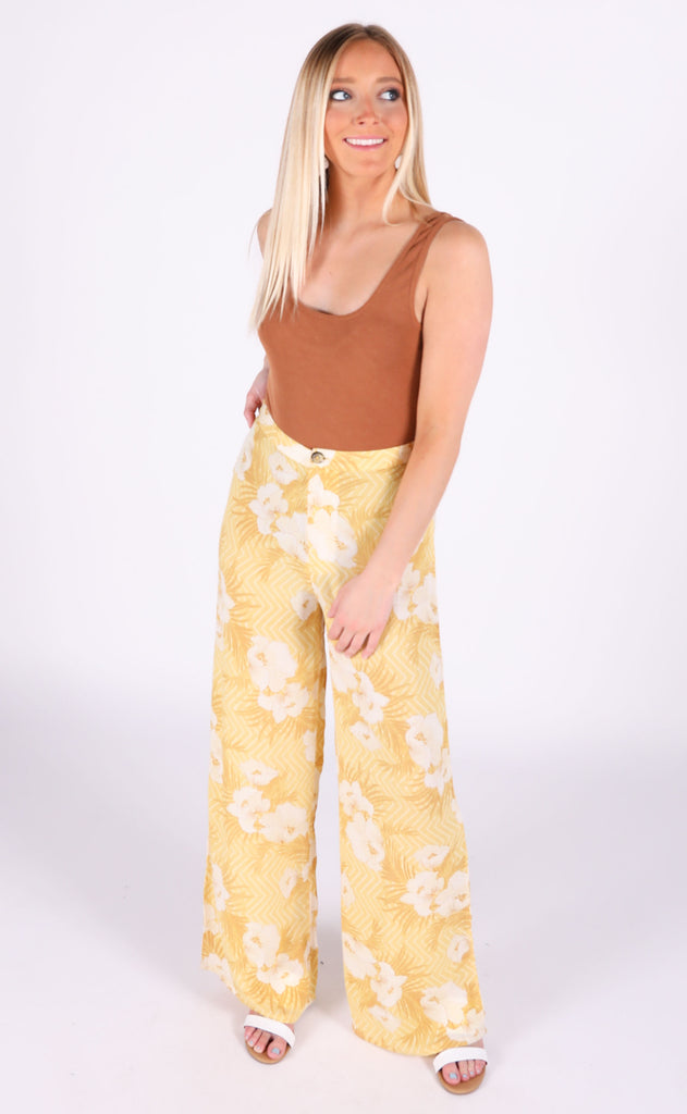 amuse society: shady shack high waisted pant