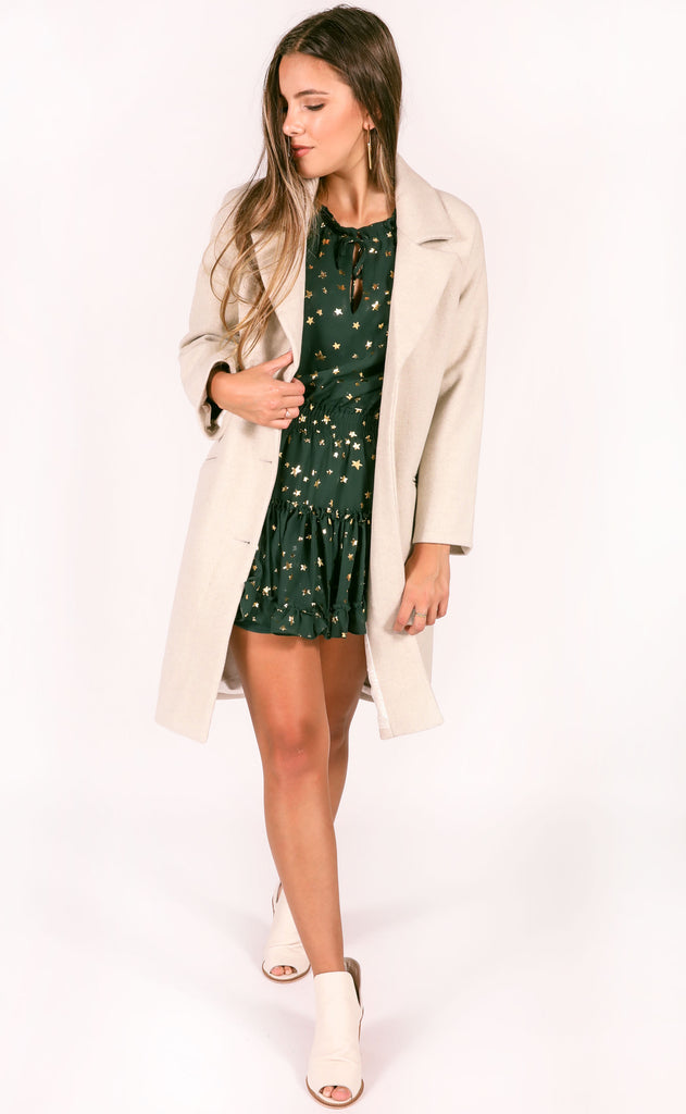 amuse society: siena wool coat