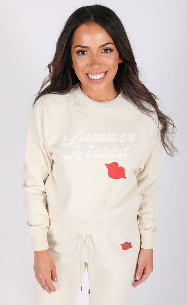 amuse society: summer kissed pullover