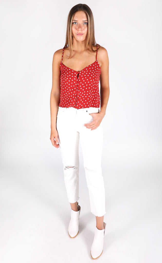 amuse society: sunny honey woven top