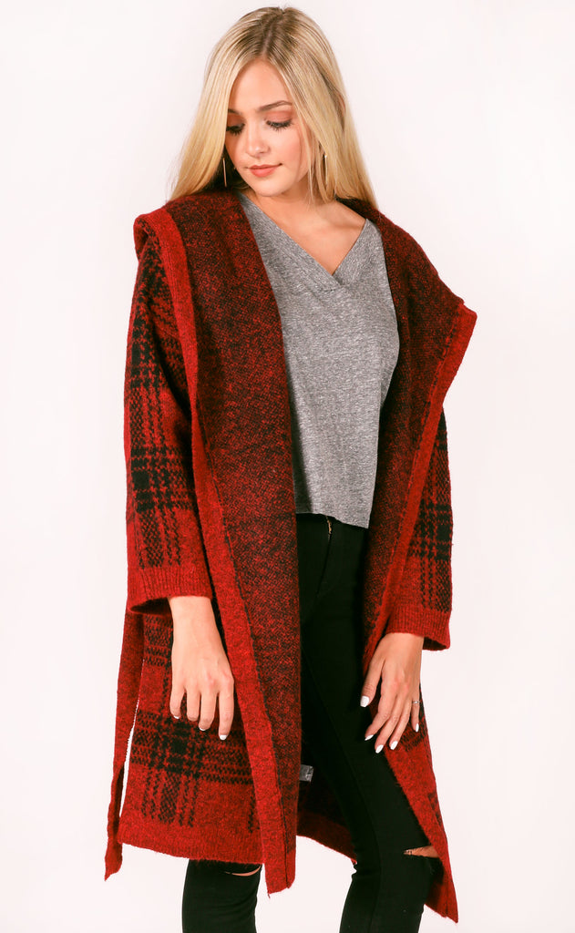 anchorage oversized cardigan