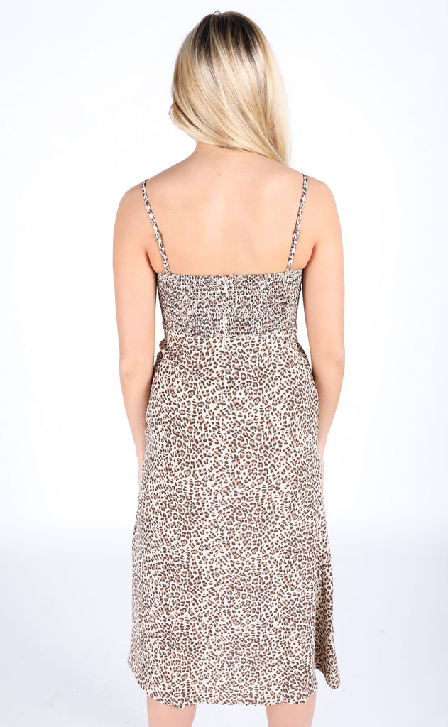 animal instinct printed dress