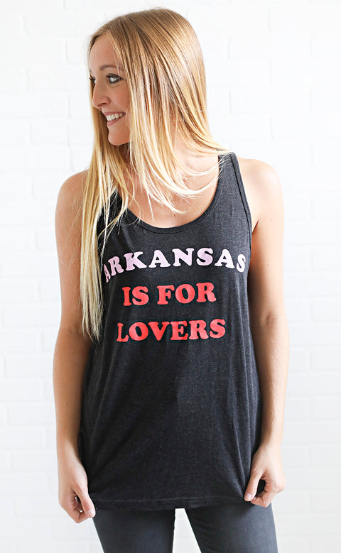 charlie southern: arkansas is for lovers tank