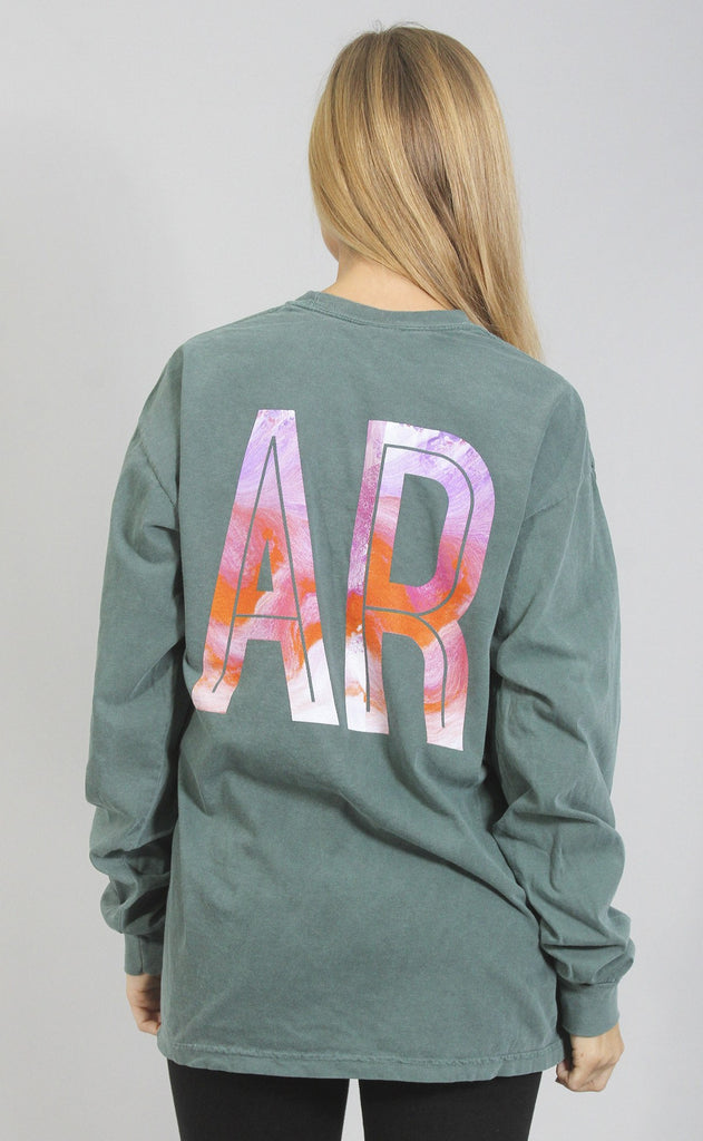 charlie southern: marble state long sleeve - arkansas