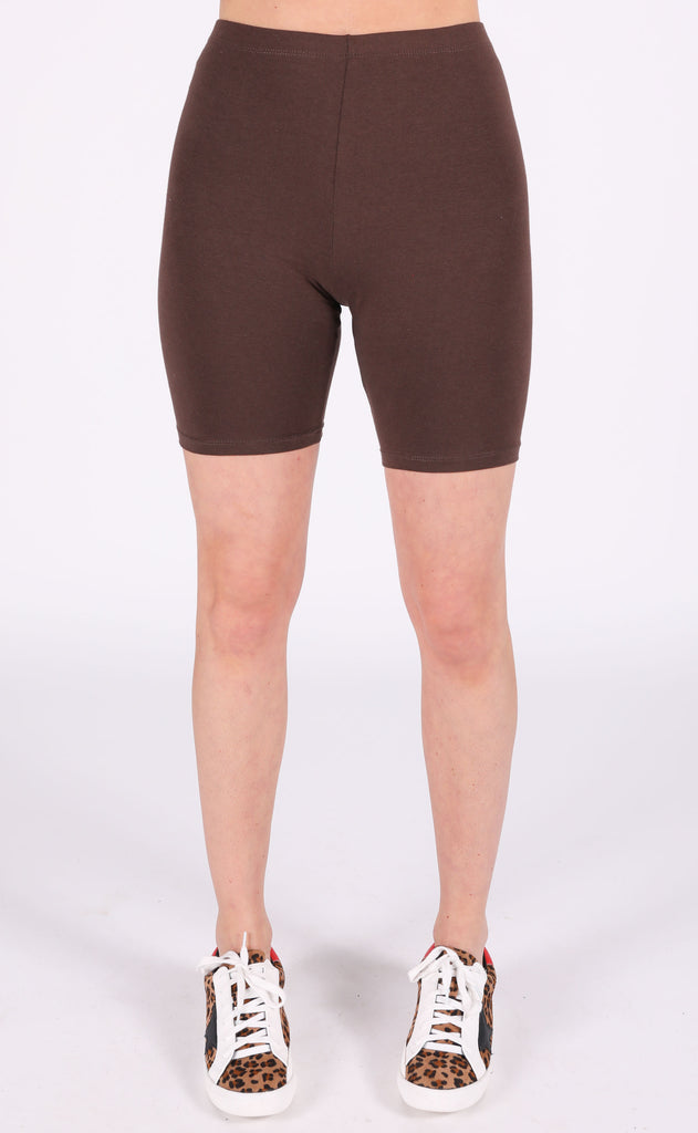 around town biker shorts - americano