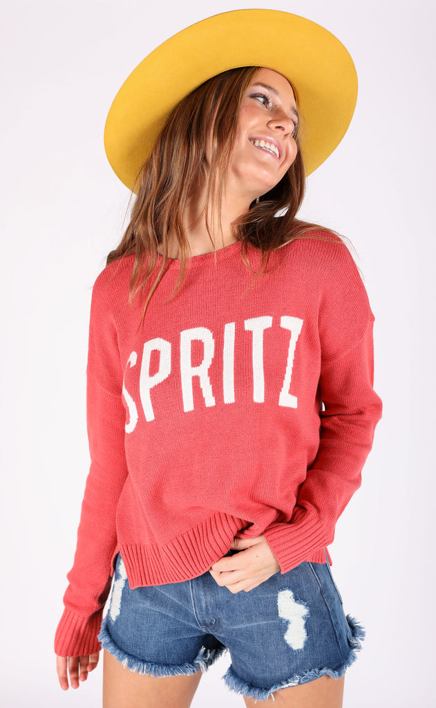 show me your mumu: arroyo sweater - spritz graphic