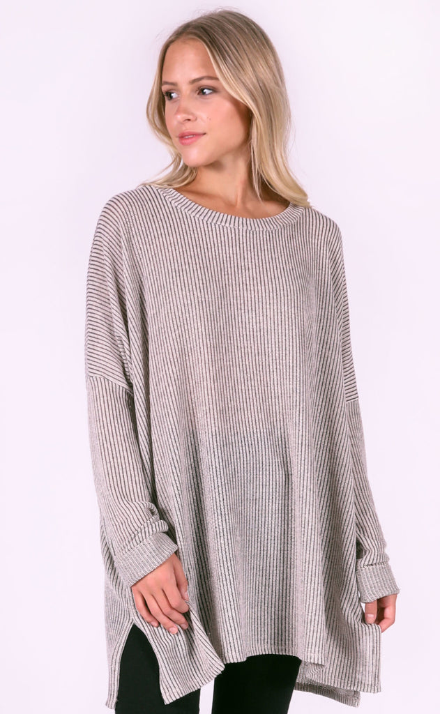 backyard bonfire oversized top