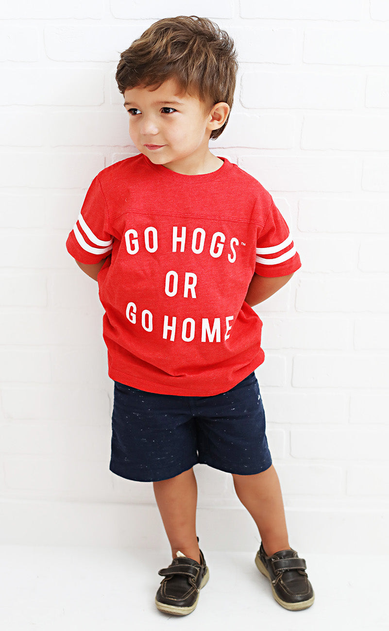 go hogs or go home toddler jersey