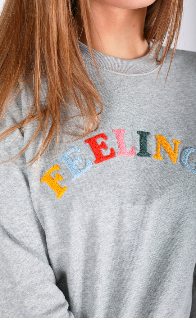 ban.do: long sleeve sweatshirt - feelings