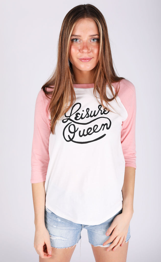 ban.do: baseball tee - leisure queen