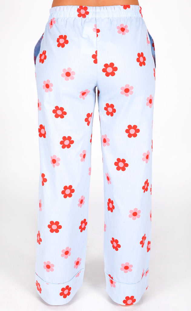 ban.do: sleep pant - retro daisy