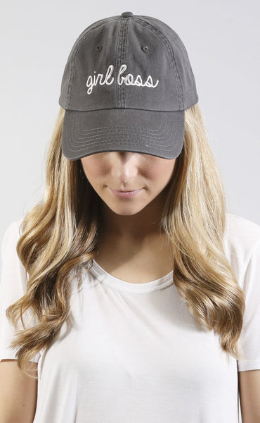 friday + saturday: girl boss hat