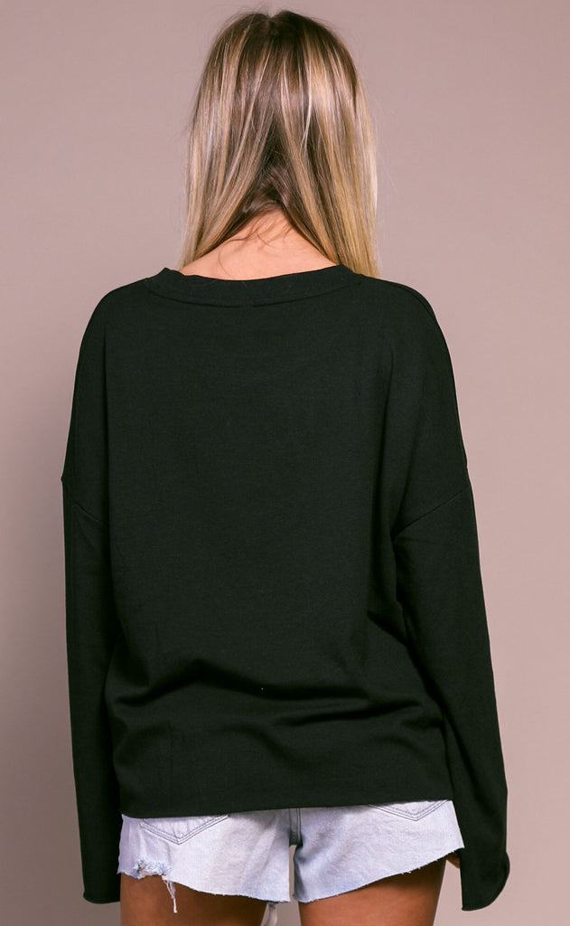 basically perfect knit pullover