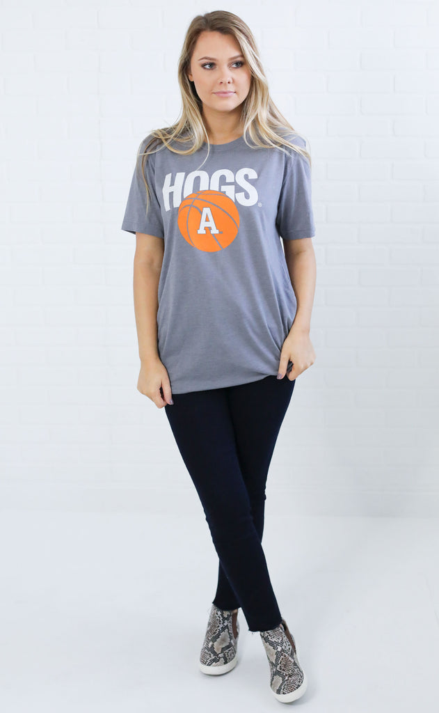 charlie southern: basketball hogs t shirt