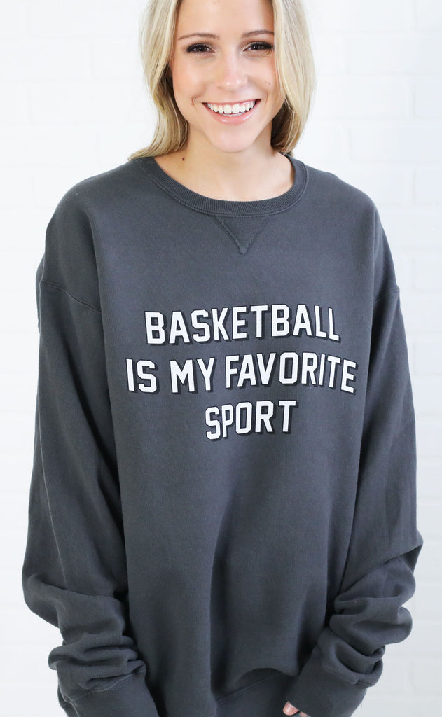 charlie southern: basketball is my favorite sport sweatshirt