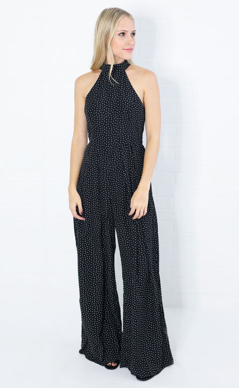 be square printed jumpsuit