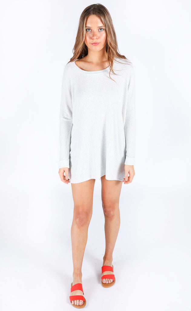 beach breeze oversized top