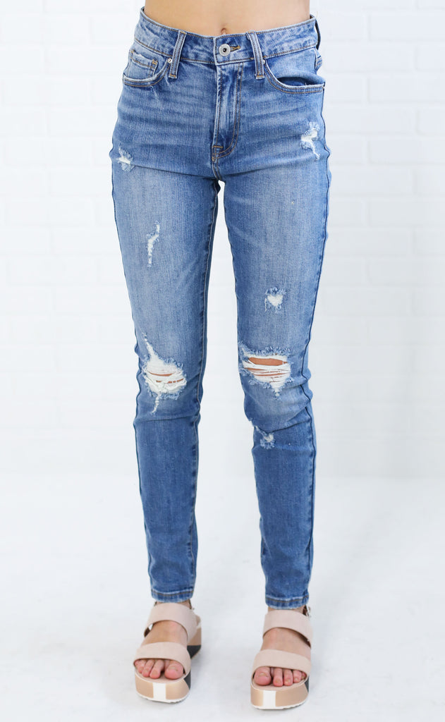 best blues high rise jeans
