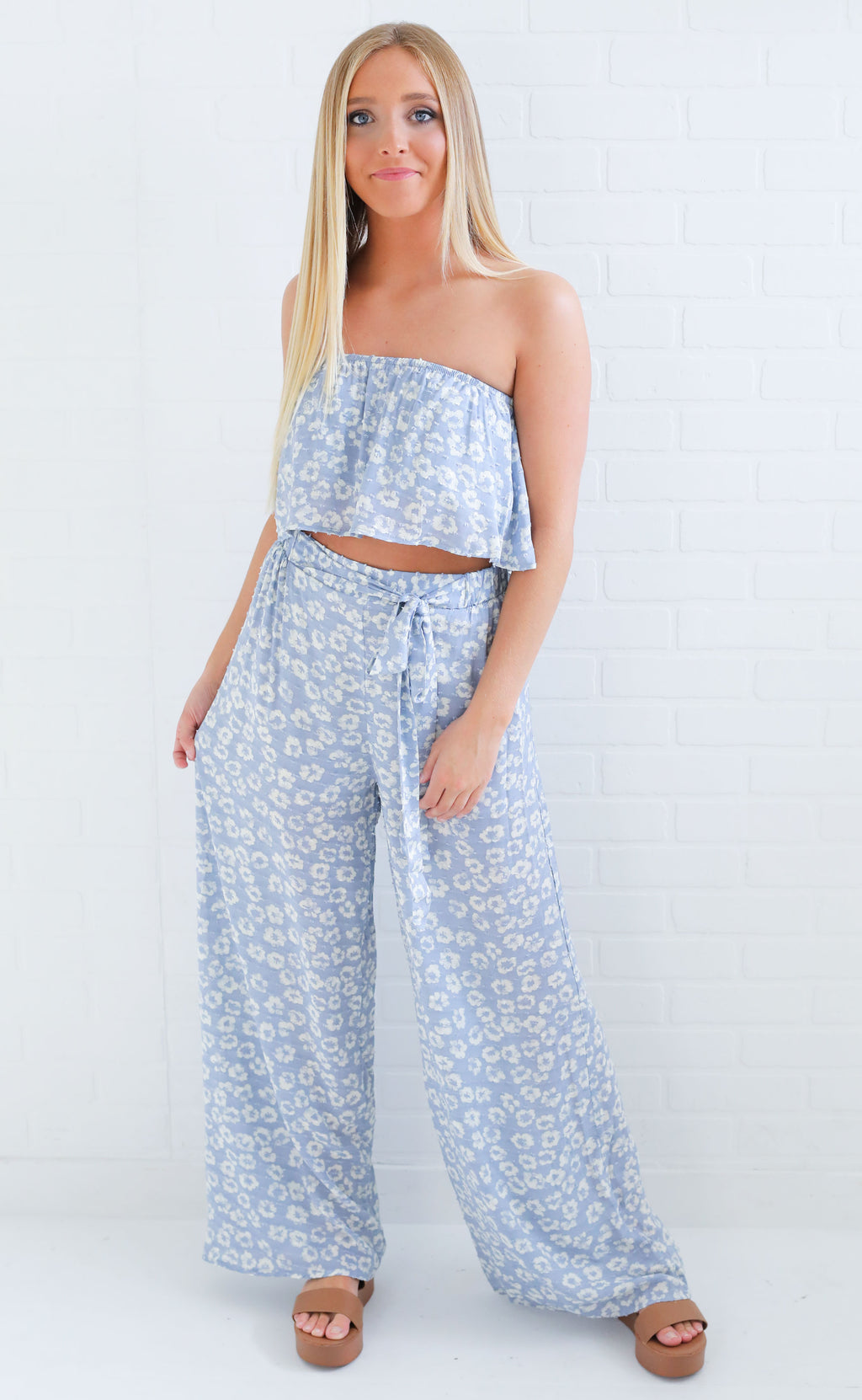 best buds two piece set - blue