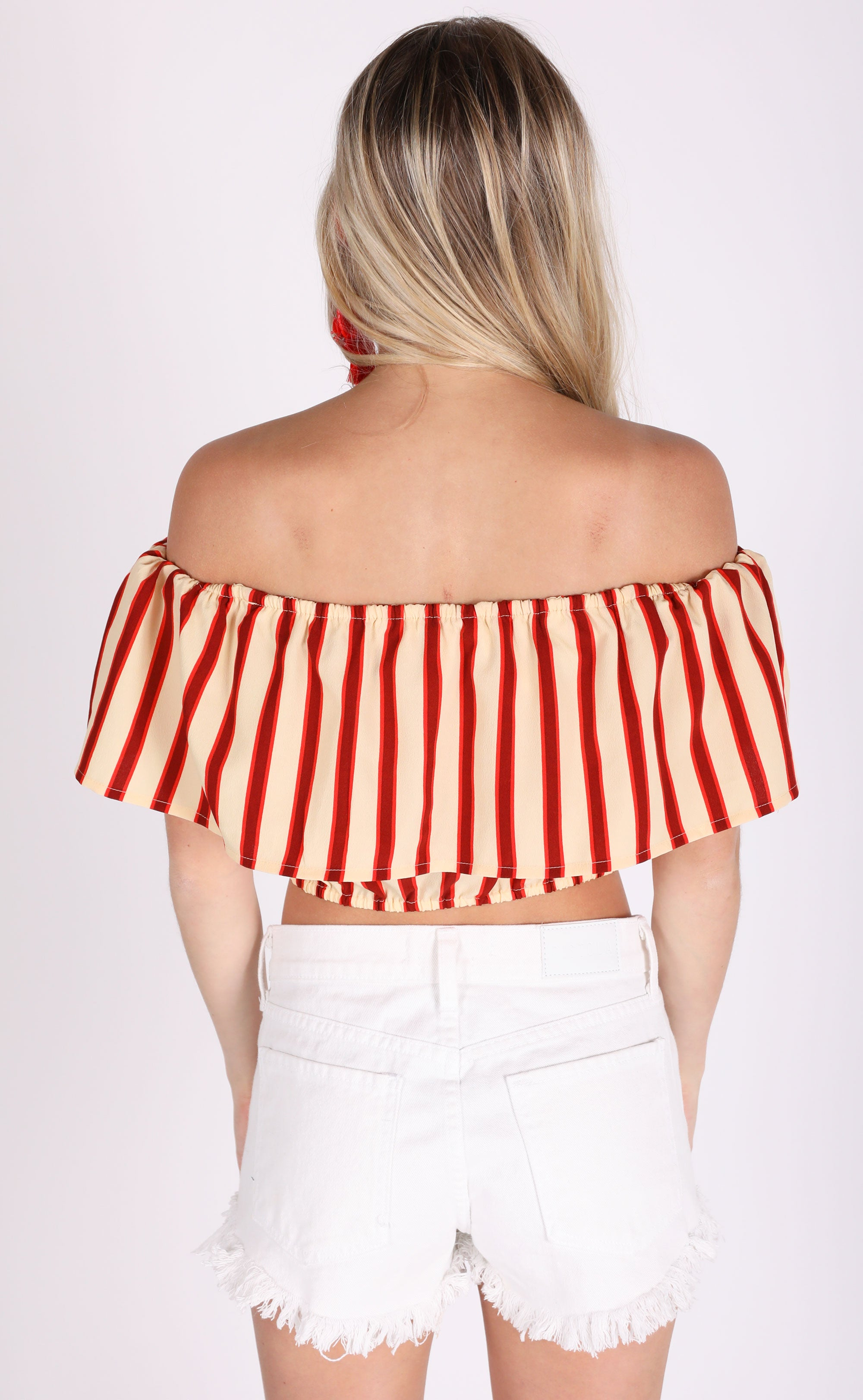 amuse society: between the lines woven top