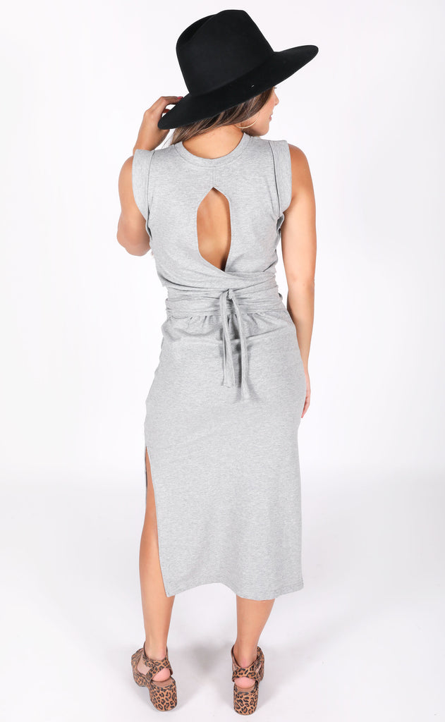 bishop + young: terry wrap dress