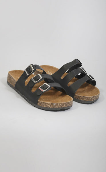 comfy classic strappy sandal