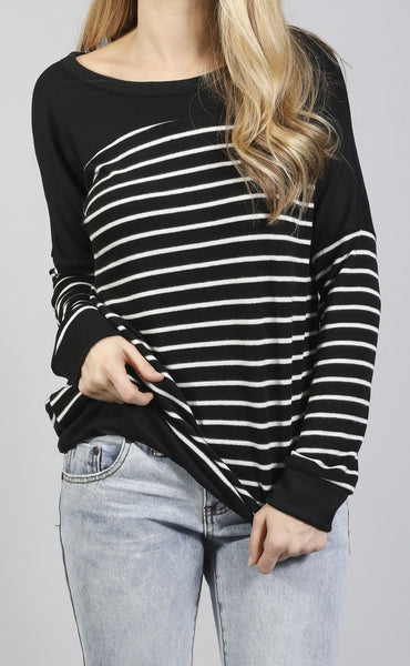changing times striped sweater