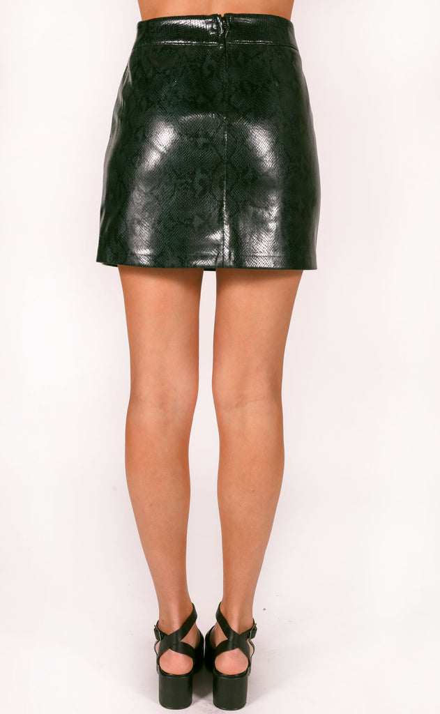 blank: slytherin skirt