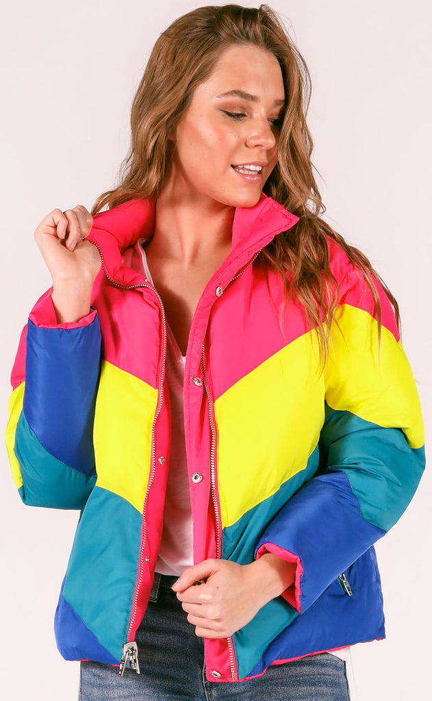 blank: temptations reversible puffer coat