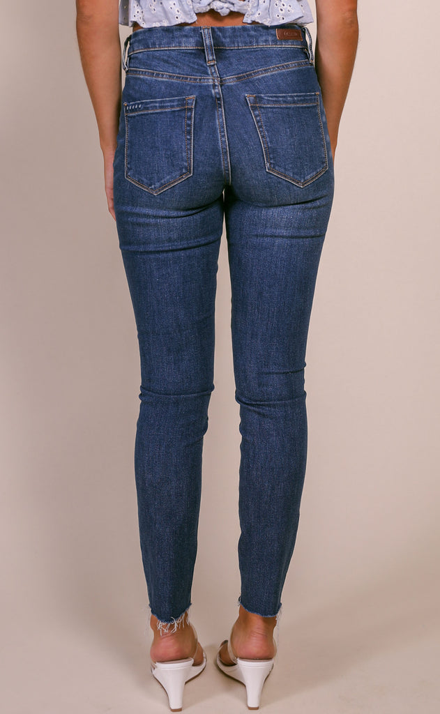blank: the bond jeans - dark wash