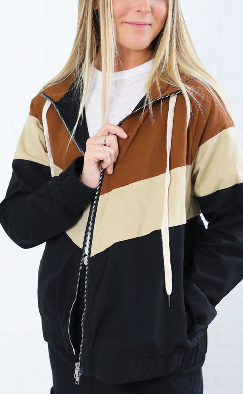 block it out hooded jacket