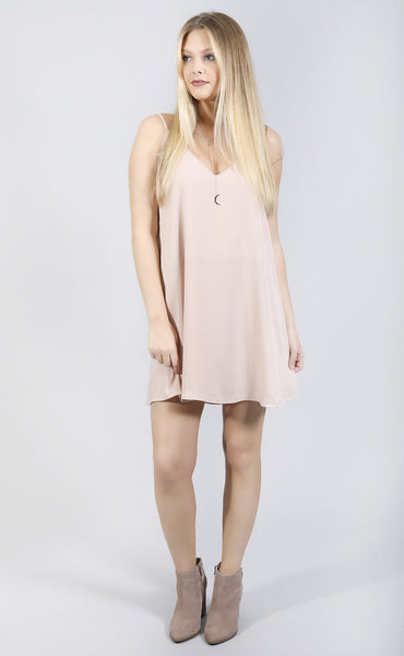 cityscape escape dress - blush