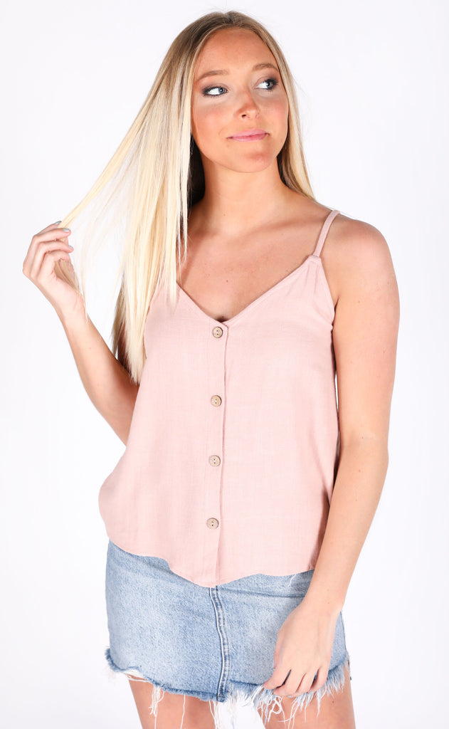 blush worthy button up top
