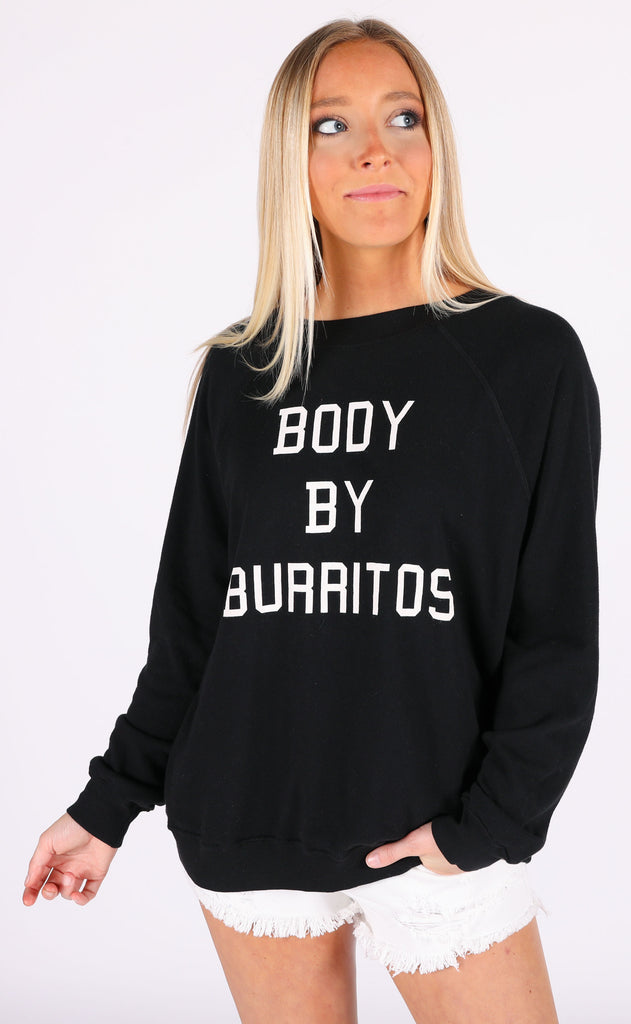 wildfox: sommers sweater - body by burritos