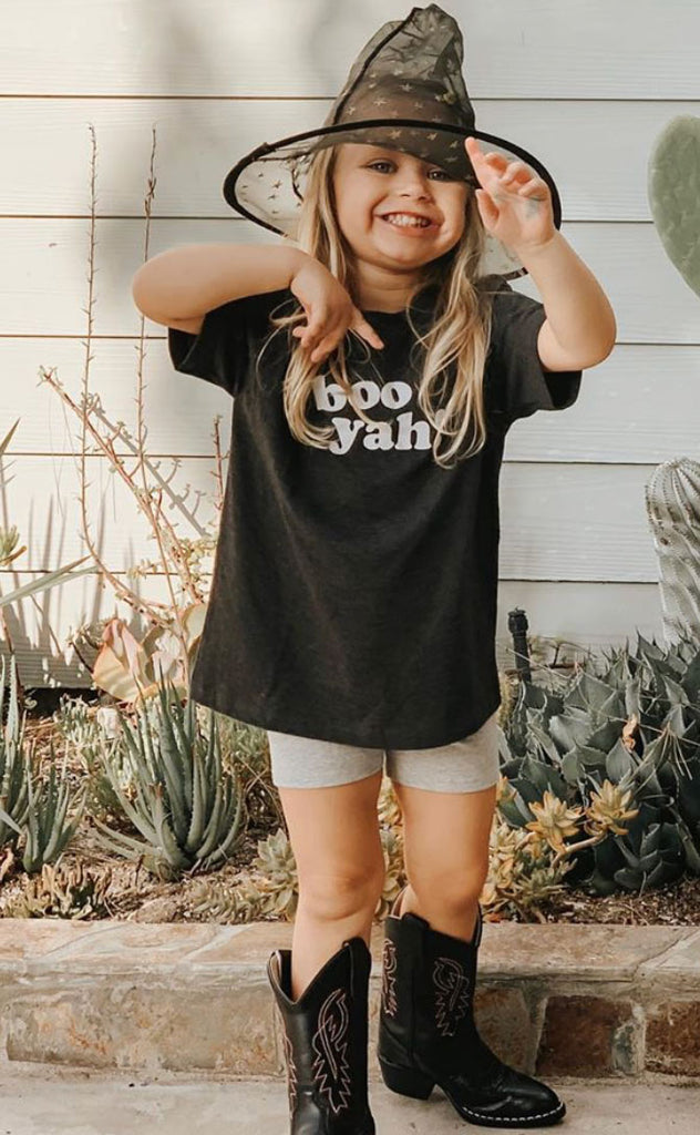 friday + saturday: boo yah! toddler tee
