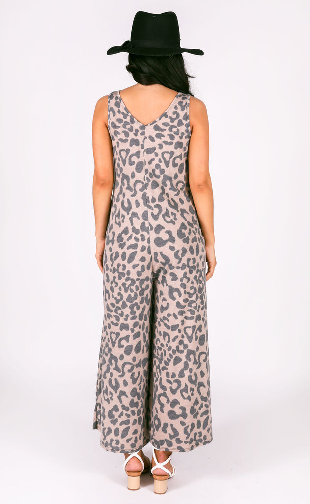 born to be wild printed jumpsuit
