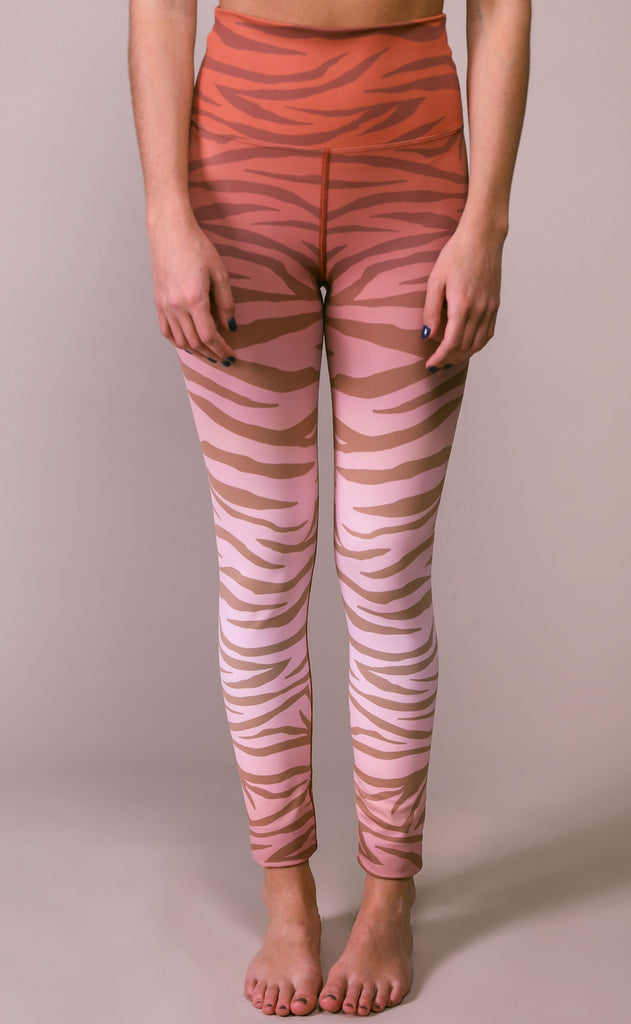 beach riot: jungle legging - rust