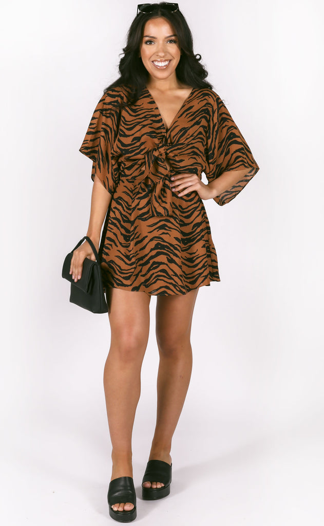buddy love: connie dress - tiger
